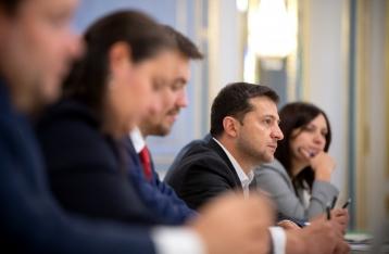 Зеленский встретился с миссией МВФ