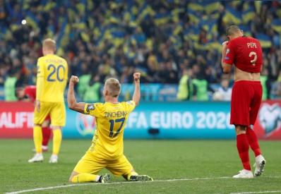 Украина обыграла Португалию и досрочно вышла на Евро-2020