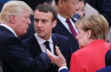 На саммите НАТО Трамп встретится с Меркель и Макроном