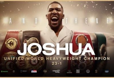 Бокс: Джошуа взял реванш у Руиса и снова стал чемпионом мира