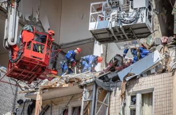 В МВД сказали, сколько квартир разрушил взрыв в киевском доме