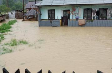 На Буковине подтоплены 11 сел, проводится эвакуация