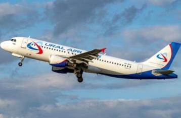 В небе над Донбассом зафиксировали российский пассажирский самолёт