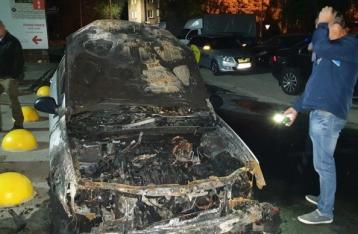 По подозрению в поджоге авто «Схем» задержали 2 человек, ещё 2 – в розыске