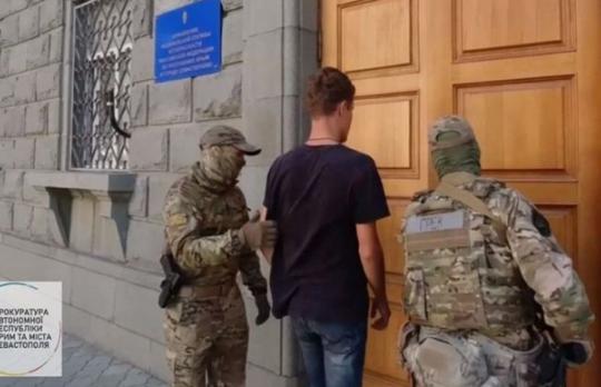 В Крыму задержали 22-летнего жителя Одесчины