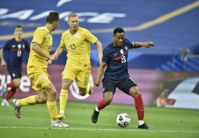 Сборная Украины проиграла Франции в товарищеском матче со счетом 1:7