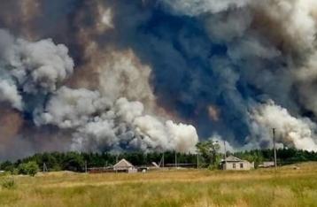 Украина представила в ОБСЕ доказательства поджогов на Луганщине