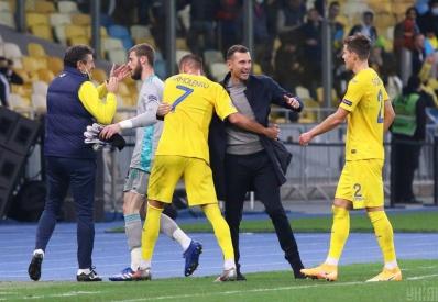 Сборная Украины по футболу впервые в истории обыграла Испанию