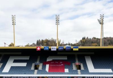 Матч Лиги Наций Украина-Швейцария отменен
