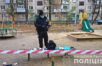 Харьковчанин забросал квартиру гранатами и подорвался сам