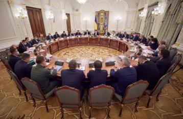 Данилов анонсировал введение санкции против ряда лиц