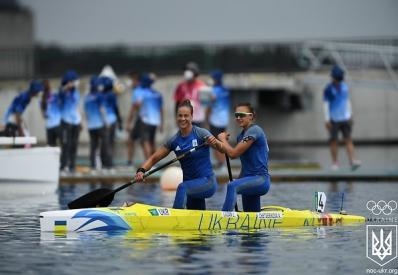 Украина завоевала «серебро» Олимпиады в каноэ-двойке