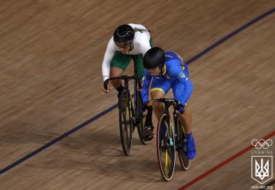 Олимпиада: украинка Старикова завоевала серебро в велотреке