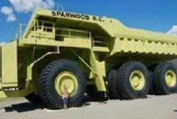 Самый большой грузовик в мире (ФОТО)