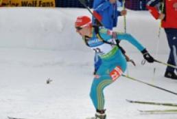 Украинка завоевала серебро на этапе Кубка мира по биатлону