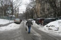 Город-каток: Как киевляне справляются с гололедицей