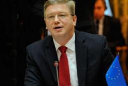 Фюле назвал крайний срок подписания Соглашения об ассоциации