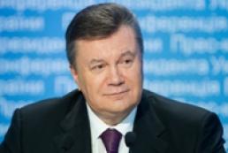 Янукович перерахував на благодійність майже 7,5 мільйона