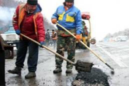«Укравтодору» залишилося залатати 3% доріг