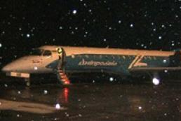 Спасатели помогли взлететь самолету с футболистами «Шахтера»