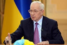 Азаров: Опозиція повинна взяти на себе відповідальність за газові контракти