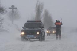 На запад Украины надвигается шторм