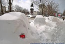 Київ у снігах: несподівана зима у березні?