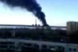 На Углегорской ТЭС произошел пожар