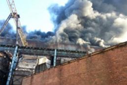 Пожар на Углегорской ТЭС ликвидирован (видео)