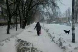 Столиця знову в сніговому полоні