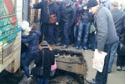 Прокуратура занялась делом об обрушении перрона в Киеве