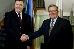 Коморовський: Польща не братиме участі у газових проектах РФ на шкоду Україні