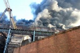 Названа причина пожара на Углегорской ТЭС