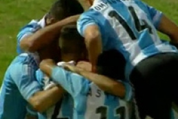 Аргентинец забил гол «ножницами» из-за штрафной