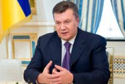 Янукович подписал ряд законов, принятых большинством