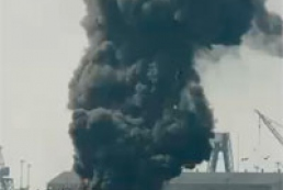 В США взорвались две баржи с газом