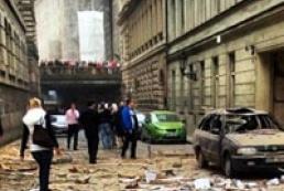 В центре Праги прогремел взрыв, 13 человек ранены