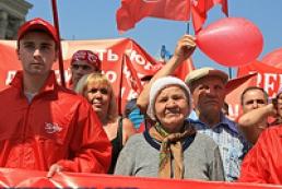 Первомай собрал в Украине около 200 тысяч человек