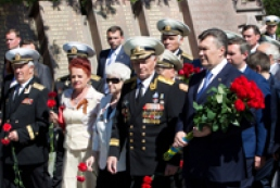Янукович призвал к примирению все стороны-участники ВОВ
