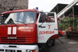 В Донецке горела шахта