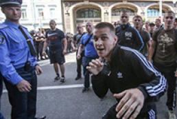 Субботние беспорядки в Киеве: нерешительных милиционеров накажут