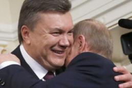 Янукович - Путину: Нам есть о чем поговорить