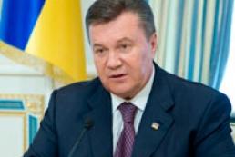 Янукович: Меморандум об участии Украины в ТС подпишут 31 мая