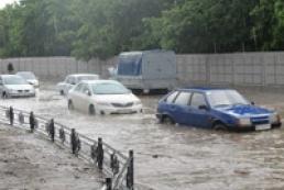 Харьков затопило после ливня