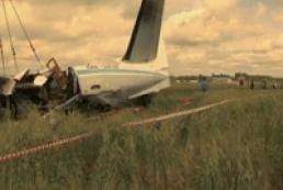 Під Києвом розбився літак