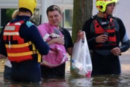 Наводнение в Германии: большая вода движется с юга на север