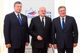 Янукович: Наша вера в объединенную Европу не пошатнулась