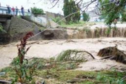 В Крыму сошел сель: дома плавают в воде