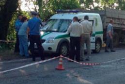 На Днепропетровщине задержали мужчину, ограбившего инкассаторский автомобиль