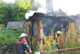 В Ривненской области на пожаре погибли отец и сын
